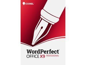 Corel WordPerfect Office X9 Pro [PC Download]