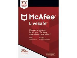 McAfee LiveSafe 2021 - 1 Year Subscription - Download