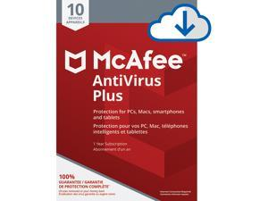 McAfee AntiVirus Plus - 10 Devices 1 Year [Download]