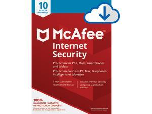 McAfee Internet Security - 10 Devices 1 Year [Download]