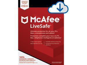McAfee LiveSafe - 1 Year [Download]