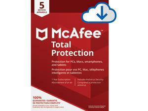 McAfee Total Protection - 5 Devices 1 Year [Download]