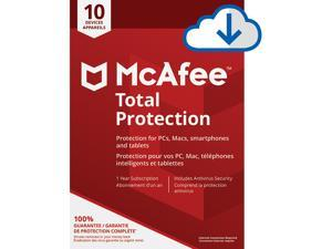 McAfee Total Protection - 10 Devices 1 Year [Download]