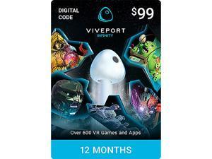 Viveport Infinity: 12 Month Access [Digital Code]