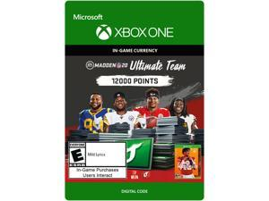 Madden NFL 20: MUT 12000 Madden Points Pack Xbox One [Digital Code]