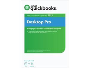 Intuit QuickBooks Desktop Pro 2021