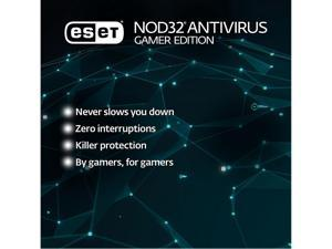 ESET NOD32 Antivirus 2021 Gamer Edition 1 Year / 1 PC- Download