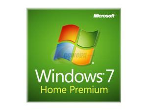 Microsoft Windows 7 Home Premium SP1 32-bit