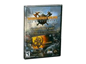 Warhammer Online 60 Day Time Card PC Game