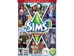Sims 3 University Life PC Game