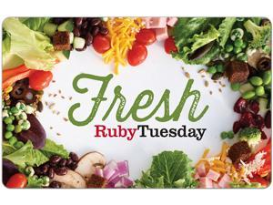 Ruby Tuesday $50 Gift Card (Email Delivery)