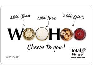 Total Wine & More $150 Gift Card (Email Delivery)