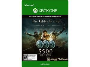 The Elder Scrolls Online Tamriel Unlimited Edition 5,500 Crowns XBOX One [Digital Code]