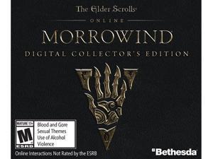 The Elder Scrolls Online - Morrowind Digital Collector's Edition [Online Game Code]