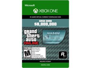 Grand Theft Auto Online: Megalodon Shark Cash Card Xbox One [Digital Code]