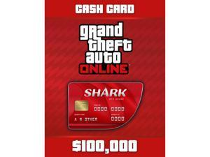 Grand Theft Auto Online: Red Shark Cash Card [PC Digital Code]