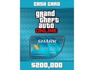 Grand Theft Auto Online: Tiger Shark Cash Card [PC Digital Code]