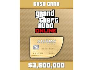 Grand Theft Auto Online: Whale Shark Cash Card [PC Digital Code]