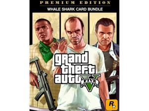 Grand Theft Auto V: Premium Online Edition & Whale Shark Card Bundle [Online Game Code]