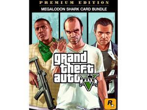 Grand Theft Auto V: Premium Online Edition & Megalodon Shark Card Bundle [Online Game Code]