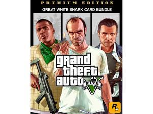 Grand Theft Auto V: Premium Online Edition & Great White Shark Card Bundle [Online Game Code]