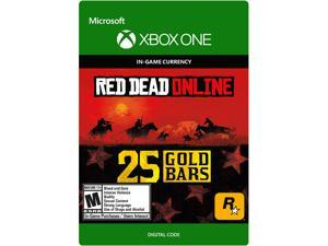 Red Dead Redemption 2: 25 Gold Bars Xbox One [Digital Code]