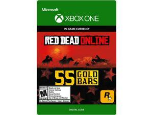 Red Dead Redemption 2: 55 Gold Bars Xbox One [Digital Code]