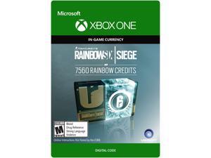Tom Clancy's Rainbow Six Siege Currency pack 7560 Rainbow credits Xbox One [Digital Code]
