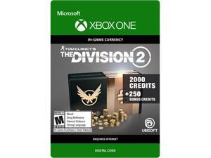 Tom Clancy's The Division 2: 2250 Premium Credits Pack Xbox One [Digital Code]