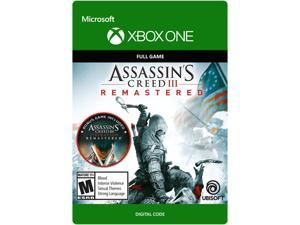 Assassin's Creed III: Remastered Xbox One [Digital Code]