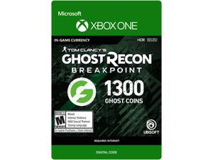 Ghost Recon Breakpoint: 1200 (+100 bonus) Ghost Coins Xbox One [Digital Code]