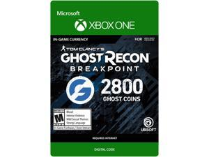 Ghost Recon Breakpoint: 2400 (+400 bonus) Ghost Coins Xbox One [Digital Code]