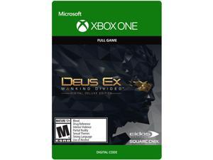 Deus Ex Mankind Divided: Deluxe Edition Xbox One [Digital Code]