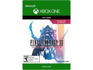 FINAL FANTASY XII The Zodiac Age Xbox One [Digital Code]
