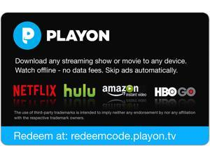 MediaMall PlayOn 1 Year Gift Card (Email Delivery)
