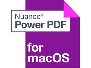 NUANCE Power PDF Standard 3.0 for Mac - Download
