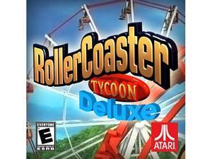 RollerCoaster Tycoon Deluxe [Online Game Code]