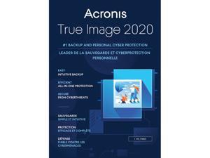 Acronis True Image 2020 - 1 PC/MAC [Free Upgrade to 2021]