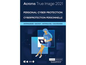 Acronis True Image Advanced Protection Subscription 1 Computer + 250 GB Acronis Cloud Storage - 1 Year Advanced Protection Subscription Download