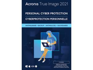 Acronis True Image 2021 - 1 PC/MAC