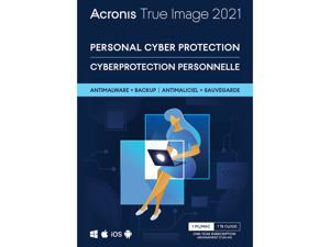 Acronis True Image Premium Protection Subscription 1 Computer + 1 TB Acronis Cloud Storage - 1 Year Subscription Download