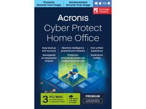 Acronis Cyber Protect Home Office Premium Subscription 3 Computers + 1 TB Acronis Cloud Storage - 1 Year Subscription [Download]