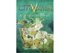 Sid Meier's Civilization V: Explorers Map Pack for Mac [Online Game Code]