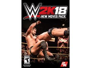 WWE 2K18 New Moves [Online Game Code]