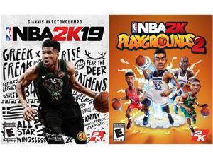 NBA 2K19 + NBA 2K Playgrounds 2 Bundle [Online Game Code]