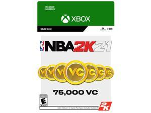 NBA 2K21: 75,000 VC Xbox One [Digital Code]