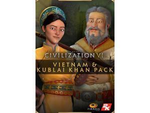 Sid Meier's Civilization® VI - Vietnam & Kublai Khan Civilization & Scenario Pack  [Online Game Code]