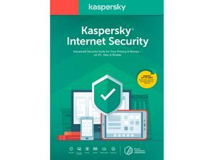 Kaspersky Internet Security 2021 1 Year / 3 Devices (Key Card)