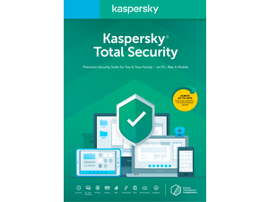 Kaspersky Total Security 2021 1 Year / 5 Devices (Key Card)