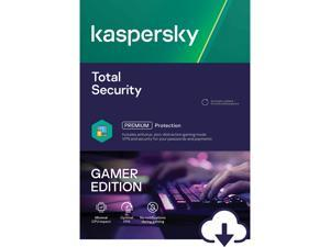 Kaspersky Total Security Gamer Edition, 1 Device 1 Year, PC/Mac Download